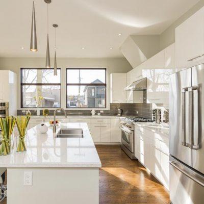 DIY Refinishing Kitchen Cabinets